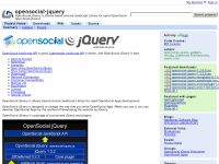 OpenSocial jQuery